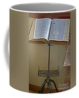 Antique Still Life Reading Stand Coffee Mug by Valerie Garner