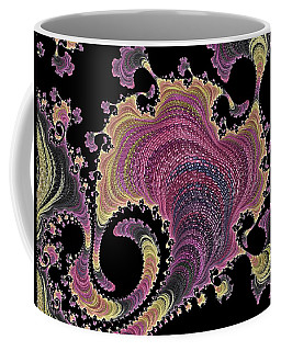 Coffee Mug featuring the digital art Antique Tapestry by Susan Maxwell Schmidt