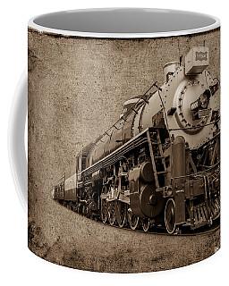 Antique Train Coffee Mug by Doug Long