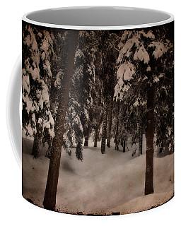 Antique Woodscape Coffee Mug