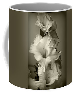 Antiqued Gladiolus Coffee Mug by Jeanette C Landstrom