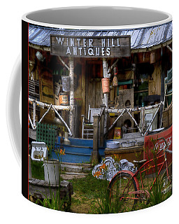 Coffee Mug featuring the photograph Antiques by Alana Ranney