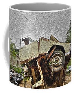 Antiques Broken Coffee Mug