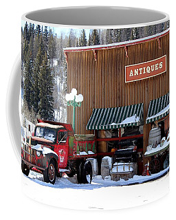 Coffee Mug featuring the photograph Antiques In The Mountains by Fiona Kennard