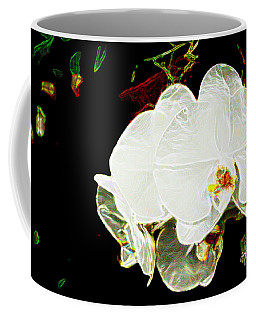 Aos White Orchid 1 Coffee Mug