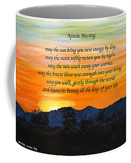 Apache Blessing-sunrise Coffee Mug