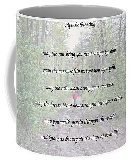 Apache Blessing With Photo Coffee Mug