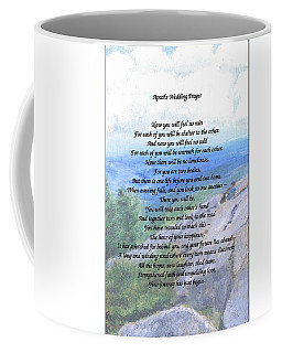 Apache Wedding Prayer Coffee Mug