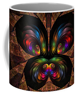 Apo Butterfly Coffee Mug by GJ Blackman