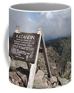 Appalachian Trail Mount Katahdin Coffee Mug