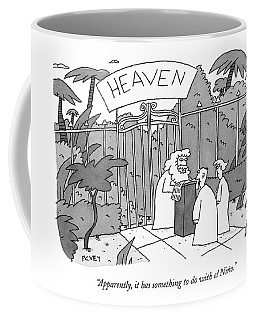 Apparently, It Has Something To Do With El Nino Coffee Mug