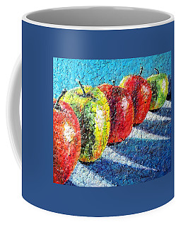 Apple A Day Coffee Mug by Susan DeLain