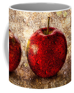 Coffee Mug featuring the photograph Apple by Bob Orsillo