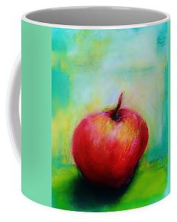 Apple In My Window Coffee Mug by Jean Cormier