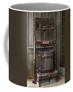 Apple Press Coffee Mug by Dale Kincaid