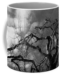 Apple Tree Bw Coffee Mug