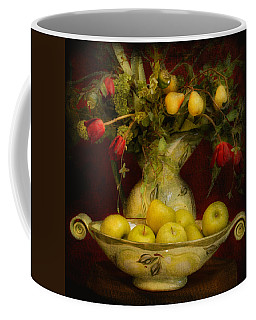 Apples Pears And Tulips Coffee Mug