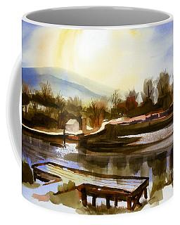 Coffee Mug featuring the painting Approaching Dusk IIb by Kip DeVore