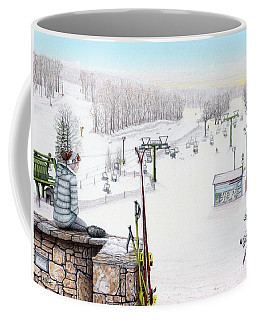 Apres-ski At Hidden Valley Coffee Mug
