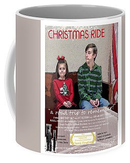 April And Josh In Christmas Ride Coffee Mug