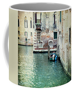 Coffee Mug featuring the photograph Aqua - Venice by Lisa Parrish