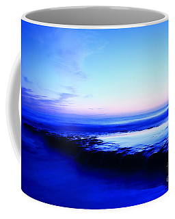 Coffee Mug featuring the photograph Swamis Aqua Reef  by John F Tsumas