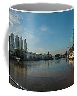 Ara Presidente Sarmiento Ship In River Coffee Mug