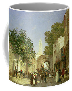 Arab Street Scene Coffee Mug