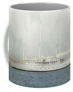 Arabella On Newport Harbor Coffee Mug