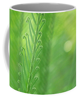 Coffee Mug featuring the photograph Arabesque by Evelyn Tambour
