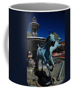 Arabian Horse Sculpture Coffee Mug