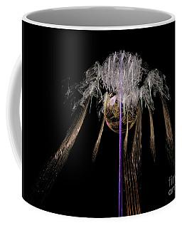 Coffee Mug featuring the digital art Arachnophobia #2 by Russell Kightley