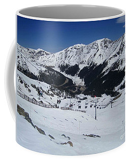 Arapahoe Basin June 2  Coffee Mug by Fiona Kennard