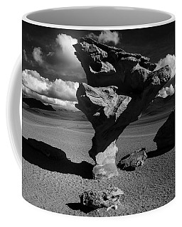 Arbol De Piedra Black And White Coffee Mug