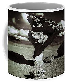 Arbol De Piedra Black And White Vintage Coffee Mug