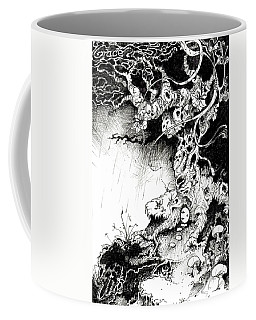 Arbol Coffee Mug by Julio Lopez