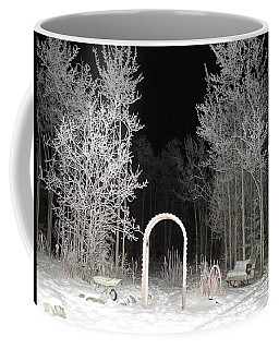 Coffee Mug featuring the photograph Arc De La Nuit by Brian Boyle