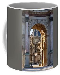 Arc De Triomphe Du Carrousel Coffee Mug