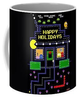 Arcade Holiday Coffee Mug