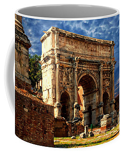Arch Of Septimius Severus Coffee Mug