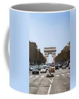 Arch Of Triumph In Paris Coffee Mug