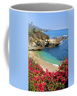 Arch Rock And Beach Laguna Coffee Mug