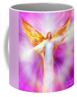Archangel Sandalphon In Flight Coffee Mug