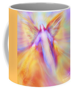 Archangel Uriel In Flight Coffee Mug