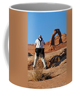 Coffee Mug featuring the photograph Arches Np 27 by Jeff Brunton