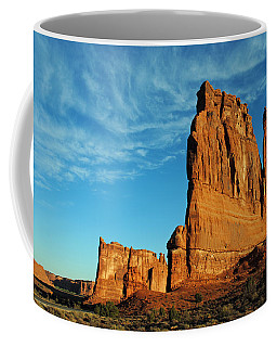 Coffee Mug featuring the photograph Arches National Park 47 by Jeff Brunton