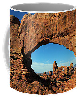 Coffee Mug featuring the photograph Arches National Park 61 by Jeff Brunton