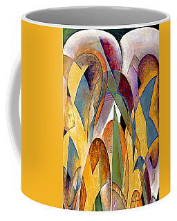 Coffee Mug featuring the mixed media Arches by Rafael Salazar