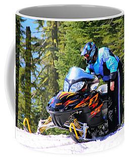 Arctic Cat Snowmobile Coffee Mug
