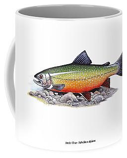 Arctic Char Male Coffee Mug